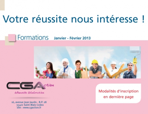 CGA formation : week-end formation