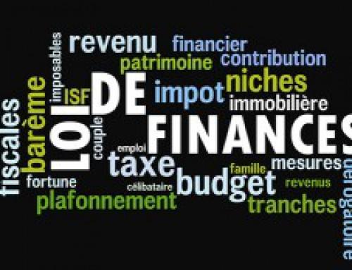Loi de Finances 2016 pour les particuliers