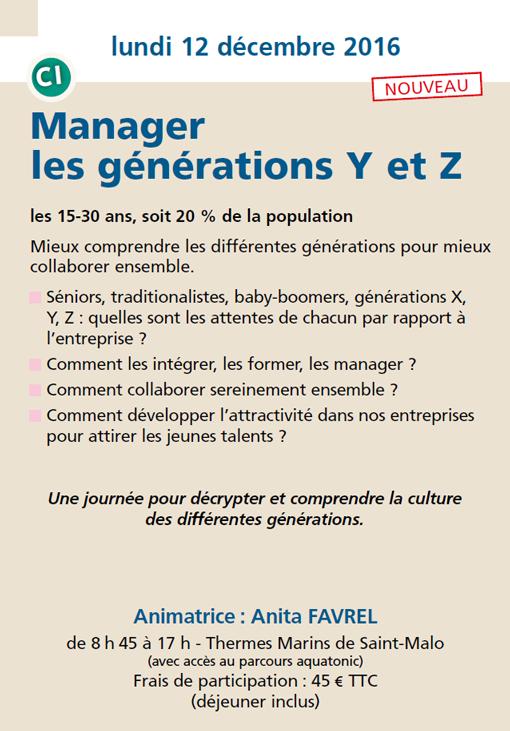 Manager les génération Y et Z