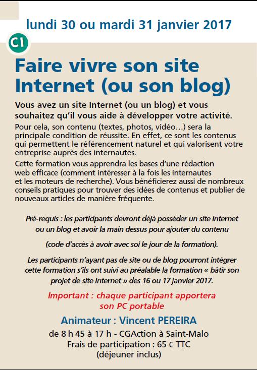 Faire vivre son site internet (ou son blog)