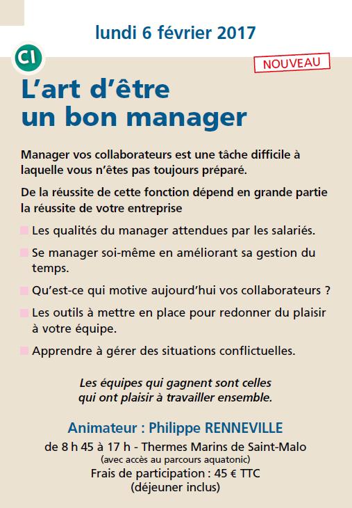 L'art d'être un bon manager