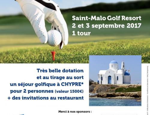 Compétition de golf les 2 et 3 septembre 2017