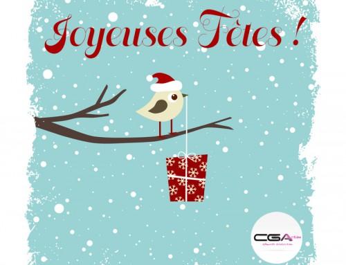 Joyeuses fêtes de fin d'année du CGAction