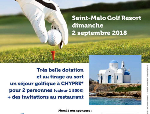 Compétition de golf le 2 septembre 2018