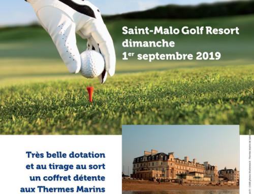 Compétition de golf le 1er septembre 2019