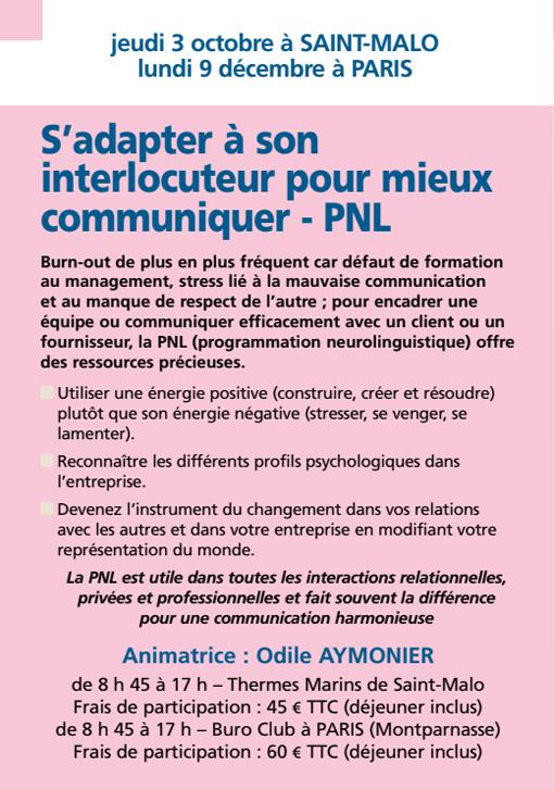 S'adapter à son interlocuteur pour mieux communiquer -PNL